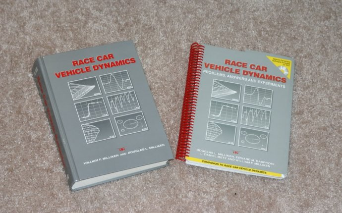 FS: Race Car Vehicle Dynamics Text w/ Problems, Answers, and