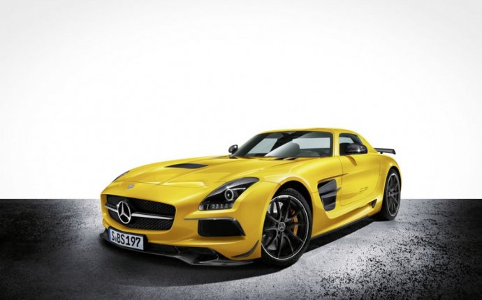 Mercedes SLS AMG Coupe Black Series Sports Car of the Year