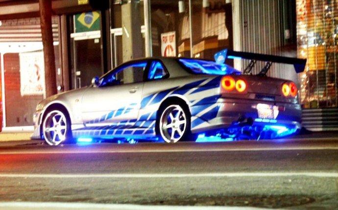 Nissan Skyline Street Racing Car | Garden