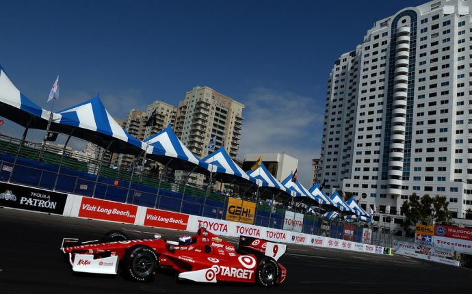 Race Car Drivers, Celebrities Go Head-To-Head In Long Beach | HuffPost