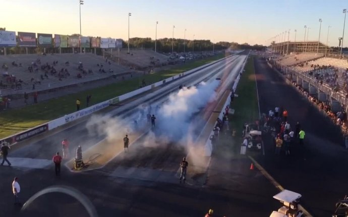 World s Quickest Street Car Blows Past Record at Drag Week 2015
