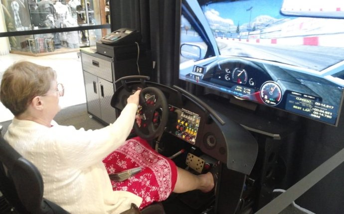 You can learn to drive a race car at any age using our simulator