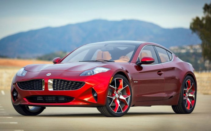 All Electric Sports Car Fisker