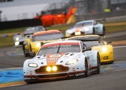 Allan Simonsen died in this Aston Martin, Le Mans, 2013