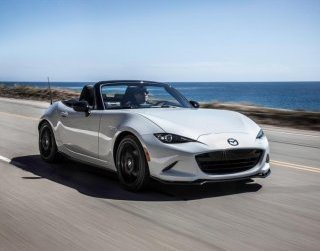 Always a fan-favorite, the MX-5 Miata is light, tight and mighty fast, with a 155 horsepower behind the coupe's 2,332 pounds of curb weight.