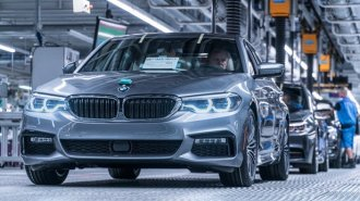 BMW puts the finishing touches on the 5 Series