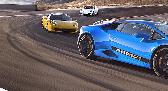 Exotic Car Racing in Vegas