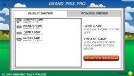 Grand Prix Pro Game Choice