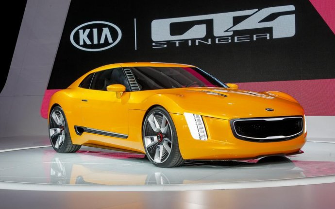 Kia Sports Car GT4 Stinger