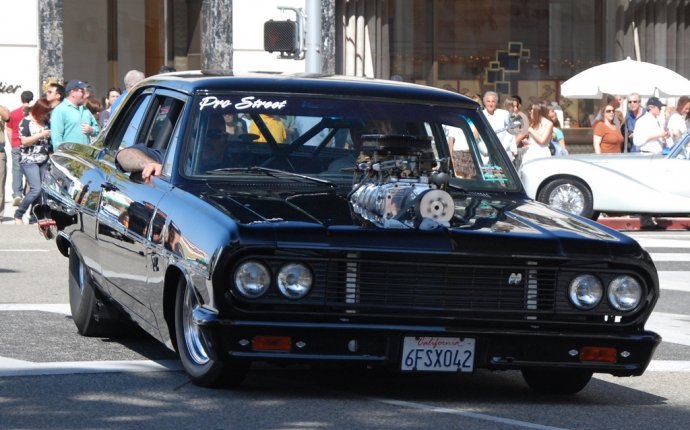 Drag Race Street Car