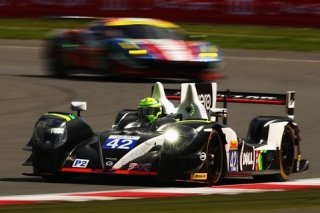 NORTHAMPTON, ENGLAND - APRIL 17: The Strakka Racing Gibson Nissan of Nick Leventis, Danny Watts and Jonny Kane drives during the FIA World Endurance Championship Six Hours of Silverstone race at the Silverstone Circuit on April 17, 2016 in Northampton, England. (Photo by Ker Robertson/Getty Images)
