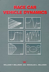 Race Car Vehicle Dynamics, Front Cover