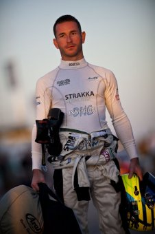 SEBRING, FLORIDA - MARCH 17: Danny Watts of England, driver of the Strakka Racing HPD ARX 03a - Honda during the 2012 World Endurance Championship - 12 Hours Of Sebring at Sebring International Raceway on March 17, 2012 in Sebring, Florida. (Photo by Drew Gibson/Getty Images)
