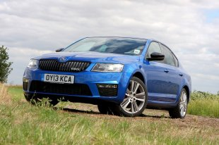 Skoda Octavia vRS - cheap fast cars