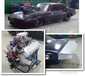 Street Outlaws Seed of Chucky Camaro