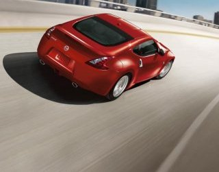With a base weight of about 3,300 pounds, the 370Z is heavier than the Miata, but its 3.7-liter DOHC 24-valve V6 engine, which makes 332-horsepower, certainly makes up for the added lbs.